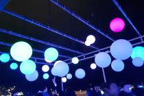 어제 해운대 빛축제 갔다왔어요!